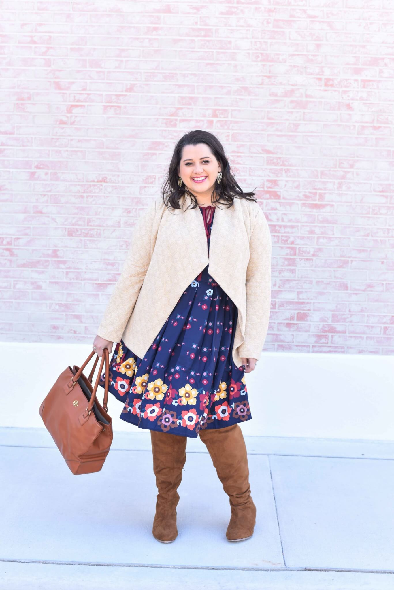 Mixing prints, Over the Knee Boots, Spring Style, Spring Outfit, What to Wear this Spring