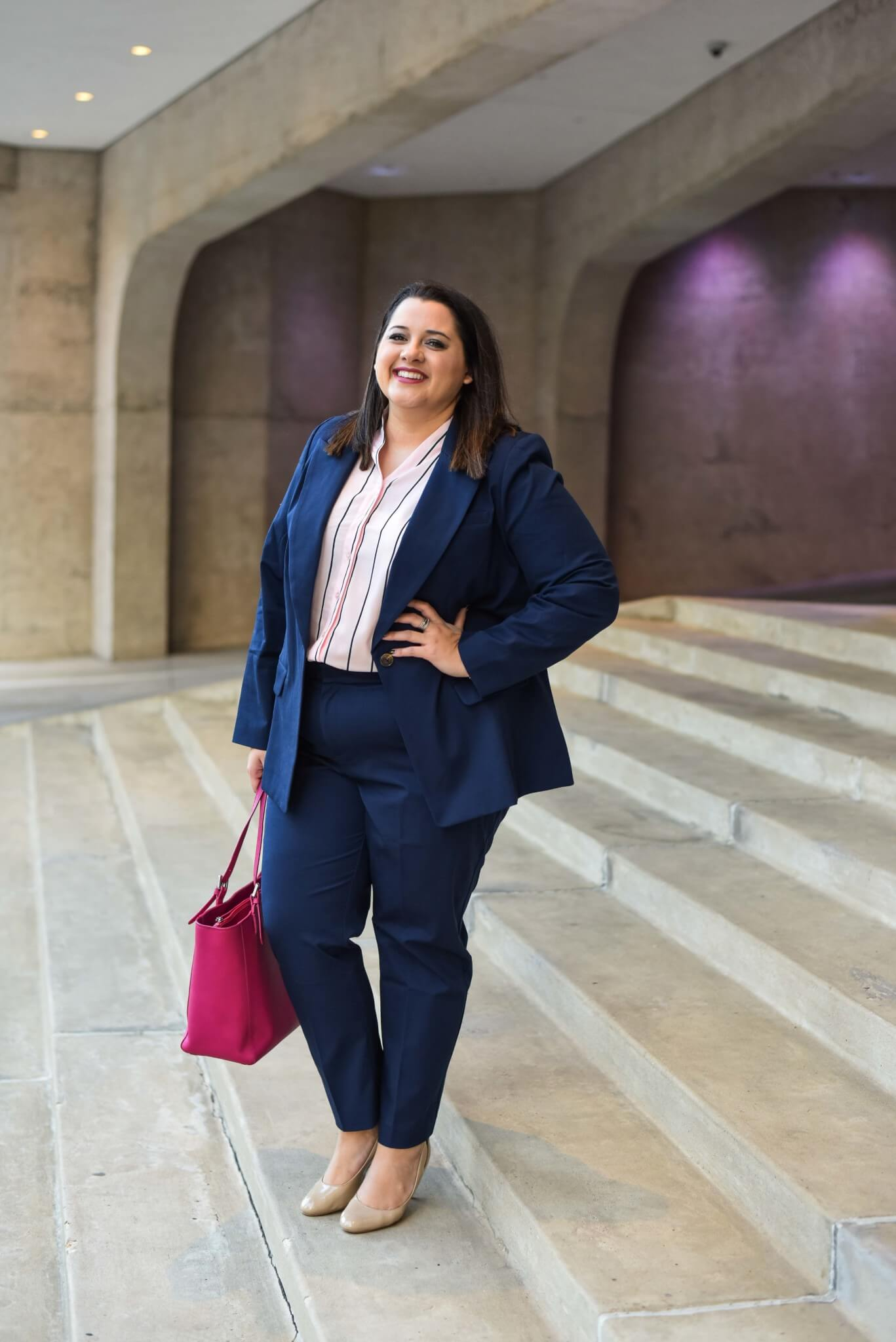Eloquii's Premier workwear collection is perfect for any corporate office.