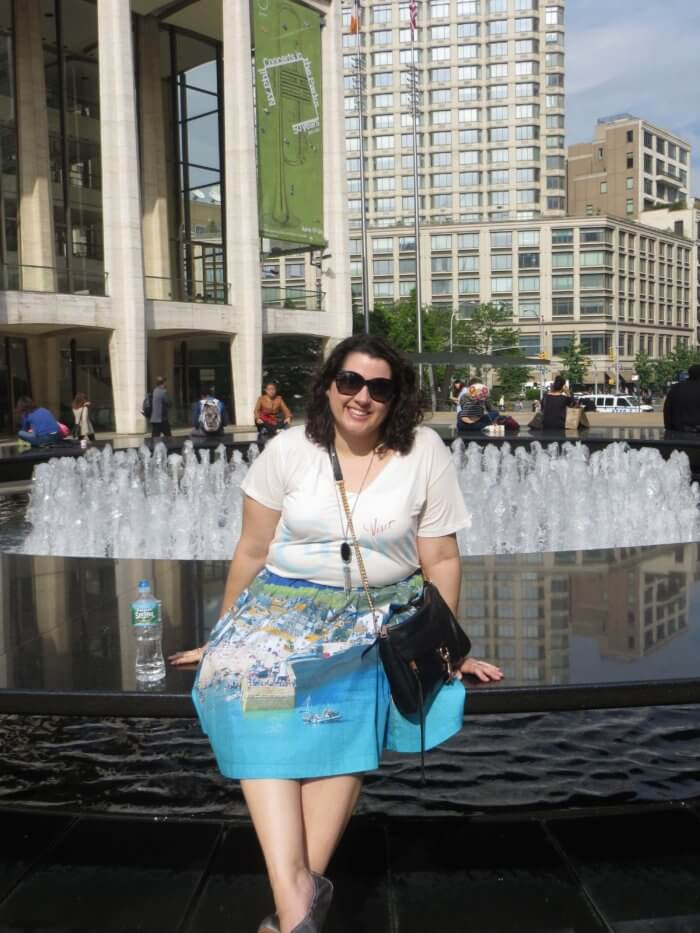 Lincoln Center in NYC
