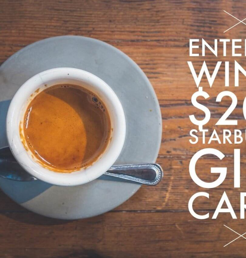 Starbucks Giftcard Giveaway