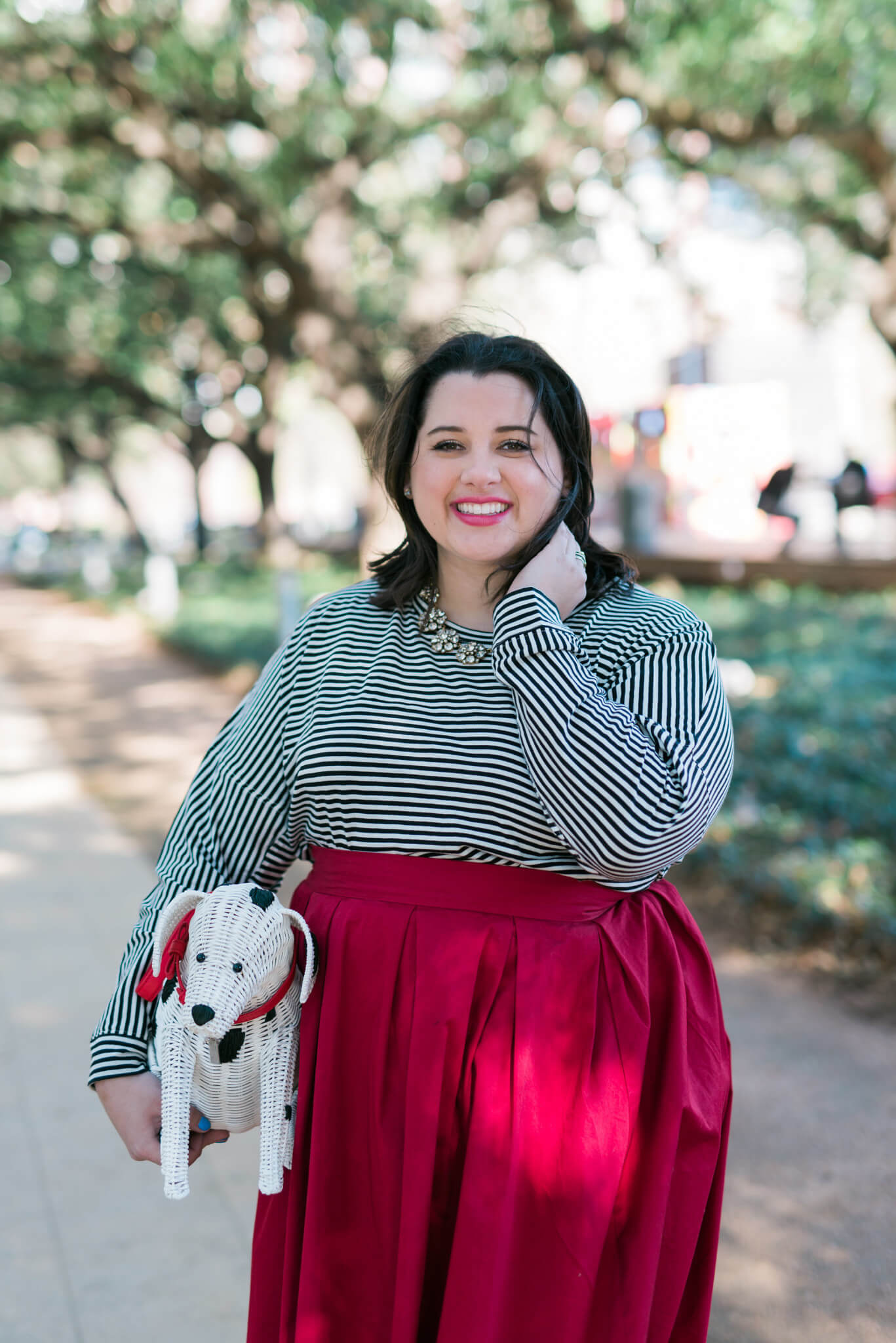 Puppy Love - Something Gold, Something Blue fashion blog - Sharing my take on the Kate Spade dalmation purse