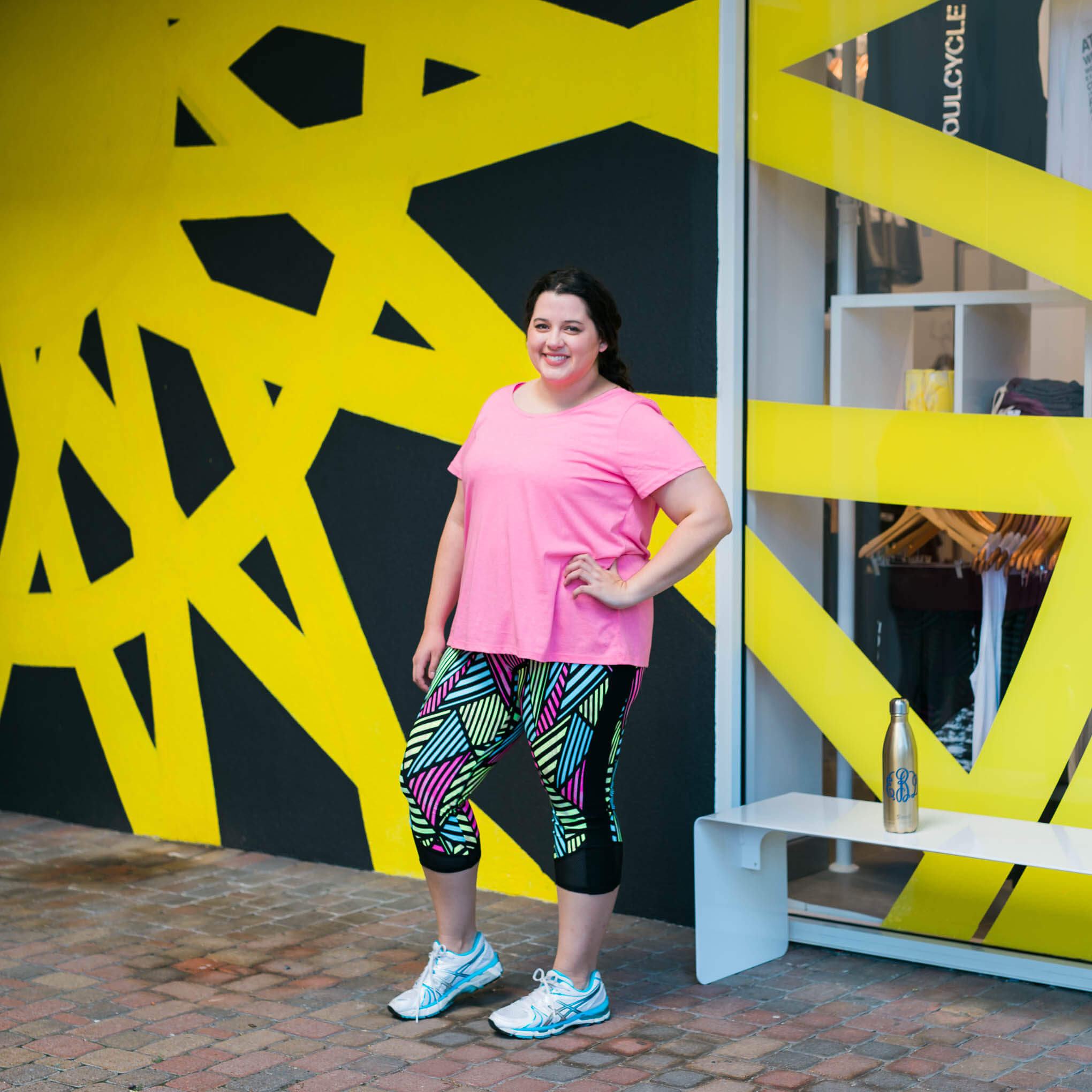b50fbce99554 ... How to rock your first SoulCycle class, Something Gold, Something Blue  fashion blog, ...