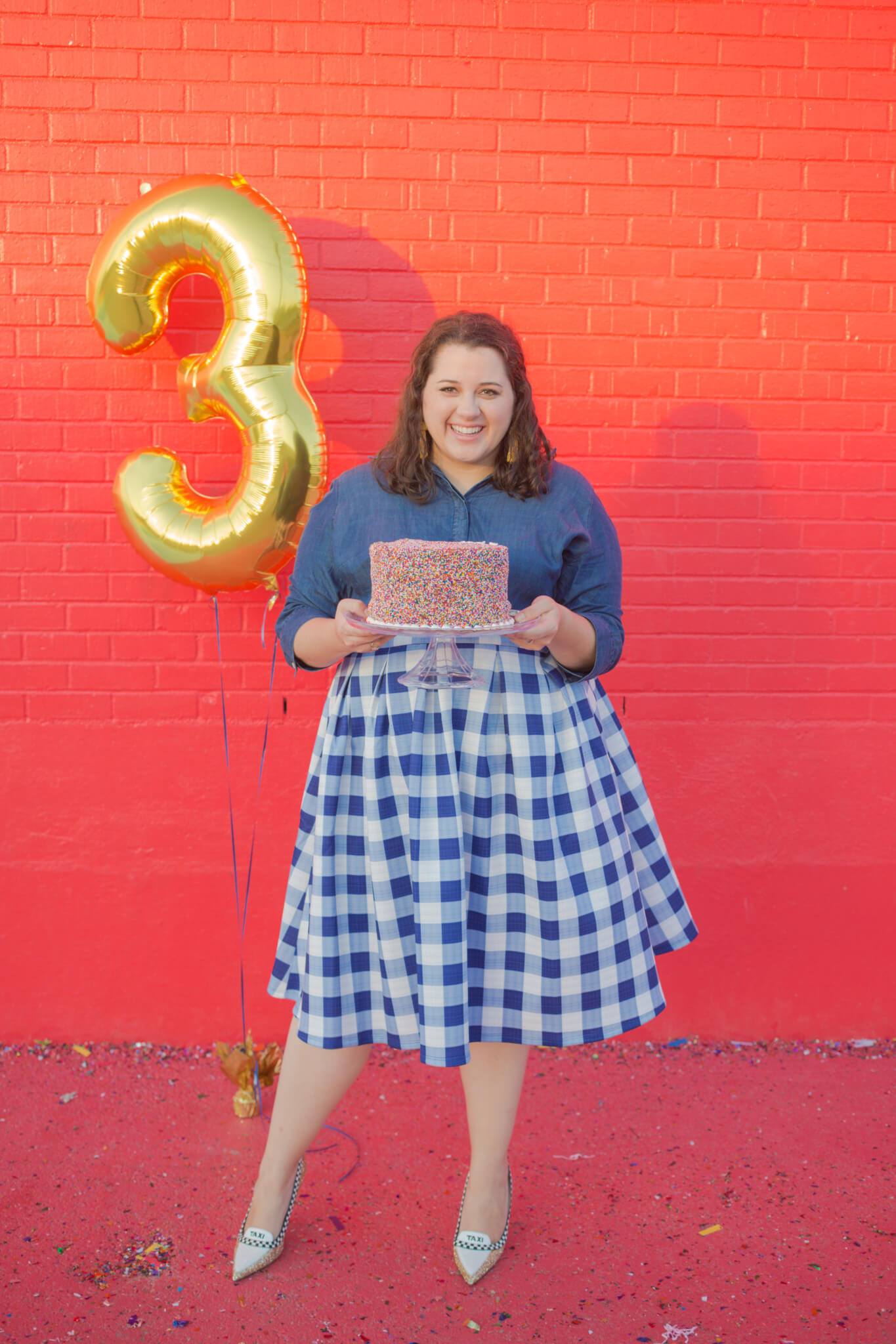 It's SGSB's 3rd Blogiversary. I can't beleive that my little corner of the Internet has been blessing my life for this long! | Something Gold, Something Blue a curvy fashion blog by Emily Bastedo