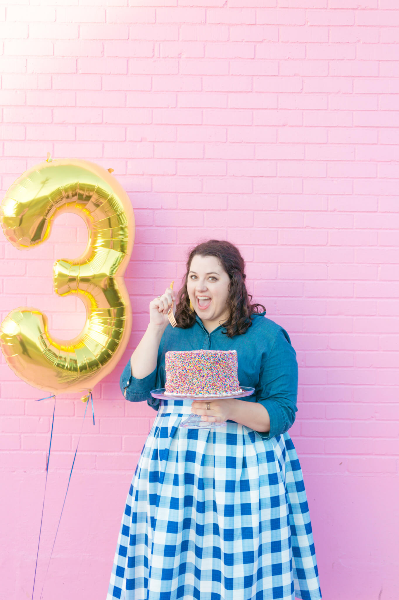 Happy 3rd Birthday, SGSB! Today, I'm looking back on what my blogging journey has looked like these past 3 years. | Something Gold, Something Blue a curvy fashion blog by Emily Bastedo