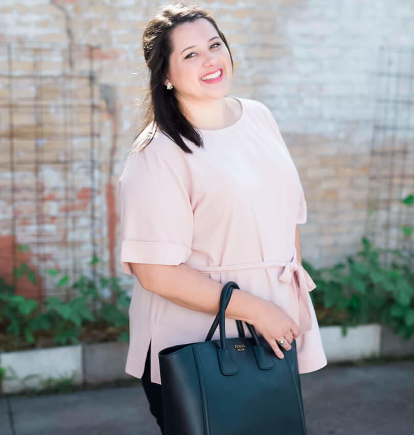 Work, Work, Work - The perfect business casual work outfit to be a #girlboss | Something Gold, Something Blue a curvy fashion blog