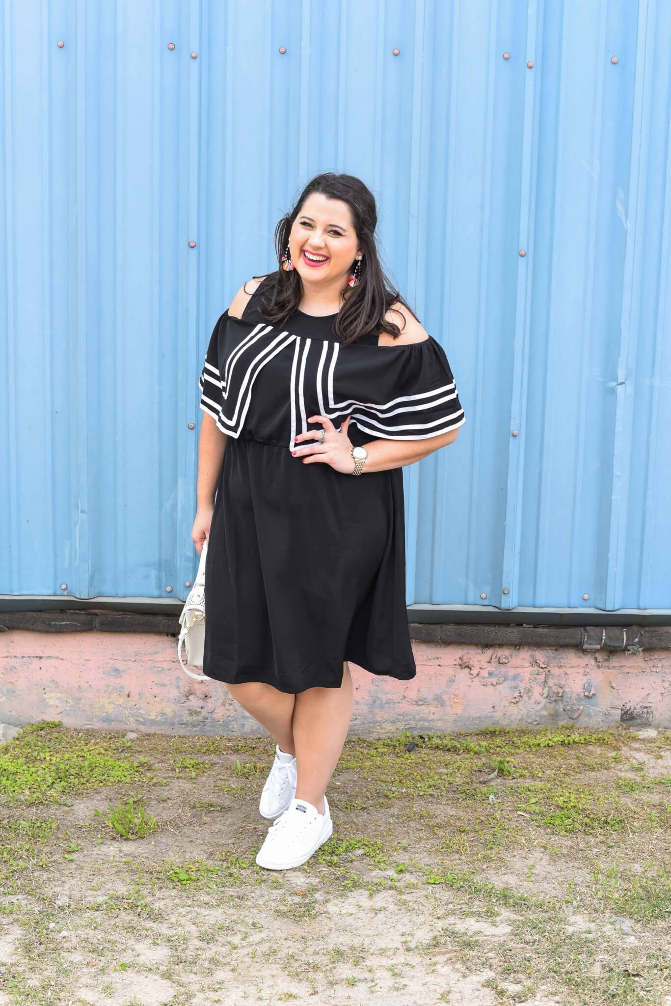 About Emily, the woman behind popular Houston Curvy Fashion Blog, Something Gold, Something Blue