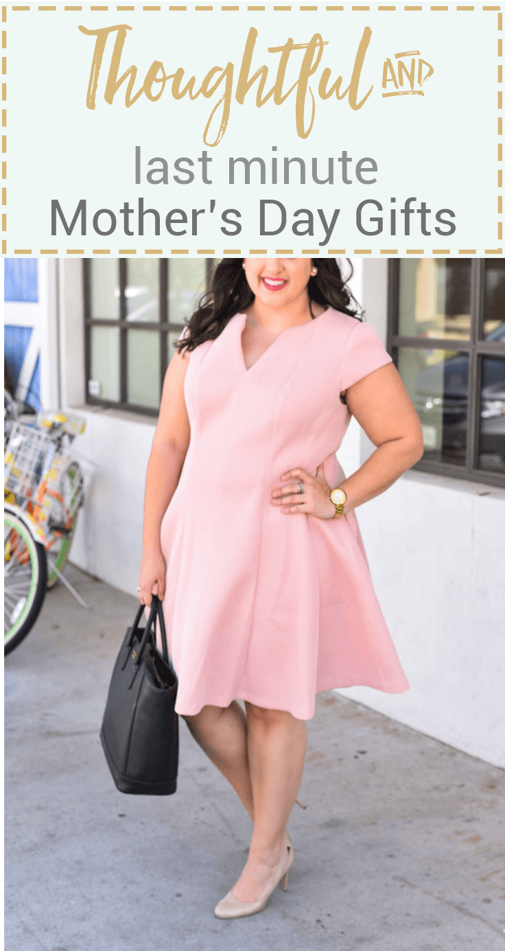 Finding the perfect Mother's Day gift can be tough, especially when it's last minute. I'm sharing 5 last minute Mother's Day gifts that will be sure to put a smile on your Mom's face.