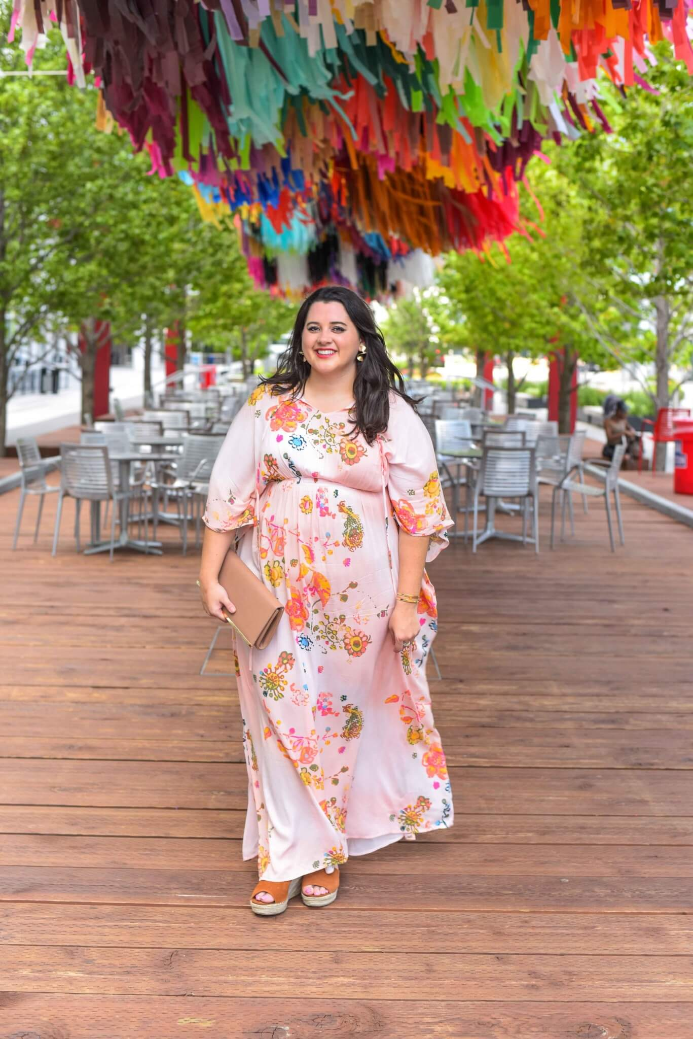 Looking to have a closet with endless possibilities? Check out Gwynnie Bee, a plus size clothing subscription service, which has this dress and so many other items that will fit perfectly into your everyday life. #maxidress #weekendwear #plussize  - Gwynnie Bee outfit by popular Houston fashion blogger Something Gold, Something Blue