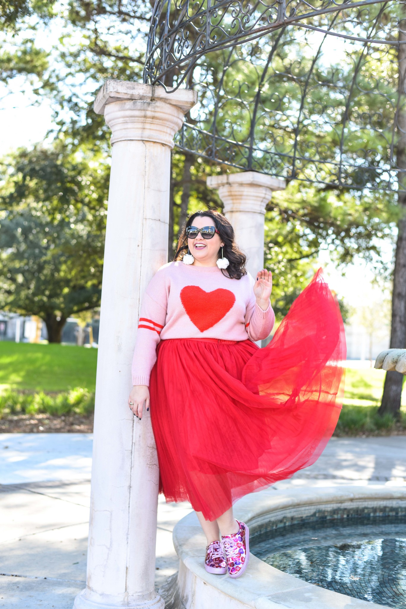 Plus Size Valentine's Day Outfit