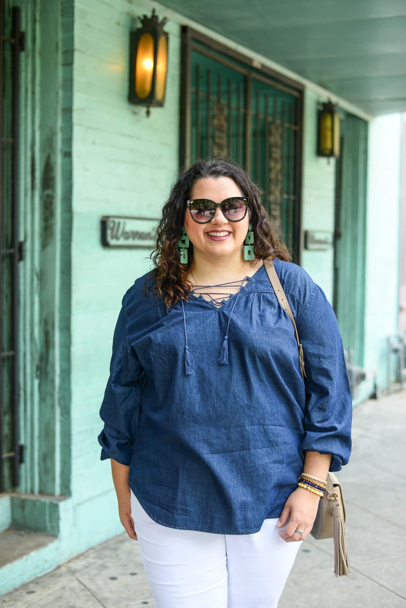 Plus Size Denim tops are perfect for the summer or all year round