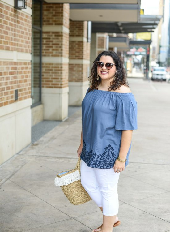 Modern curvy plus size clothing perfect for the summer
