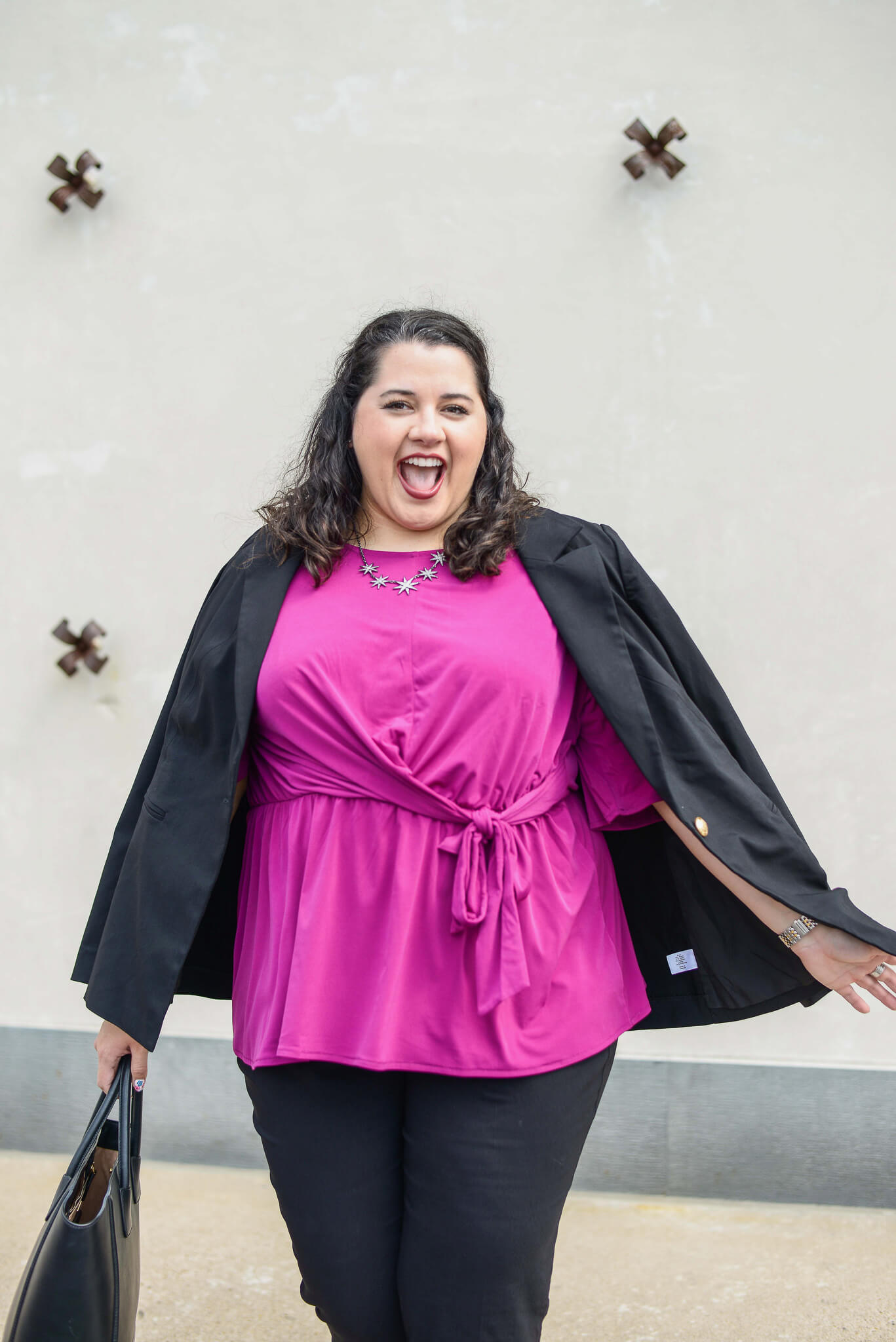 Work should be fun at least most of the time and my outfits for the office are no different. Lane Bryant is making that super easy by curating a selection of their items in one spot on their website.