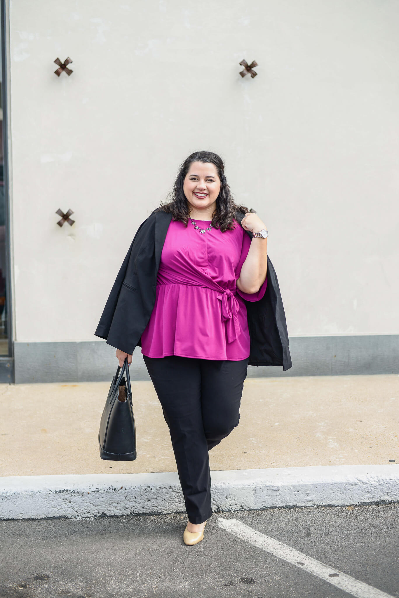 Lane Bryant has some of the best plus size work clothes.