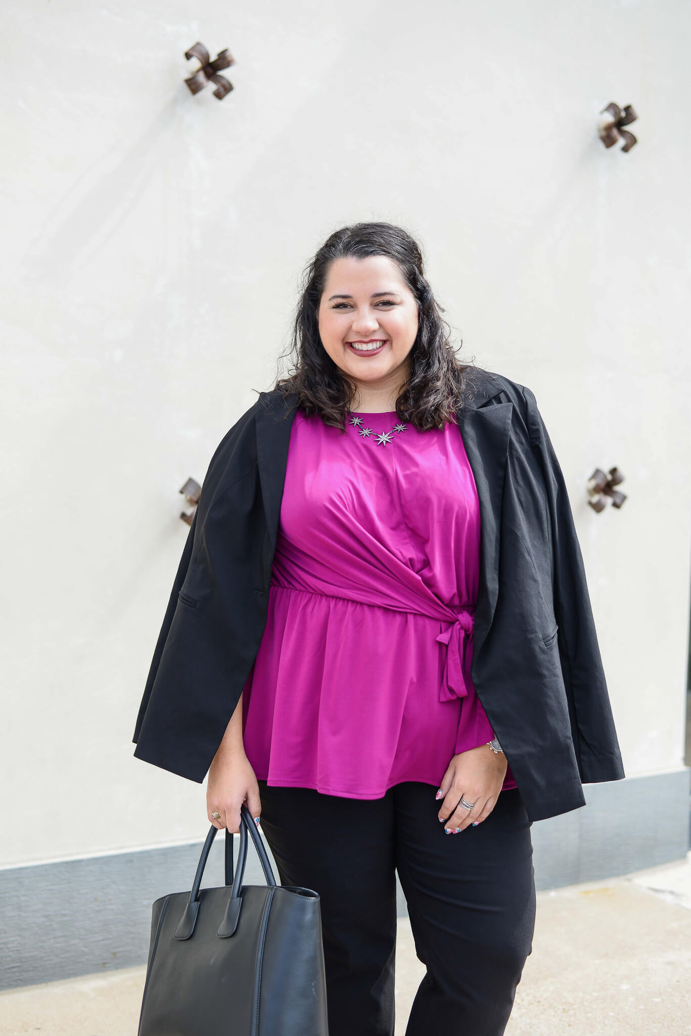 Being a boss babe can be difficult. There are lots of stressors often associated with it, but choosing an outfit shouldn't be one of them. Lane Bryant has curated a section of their website to help you find that perfect work outfit for any office.