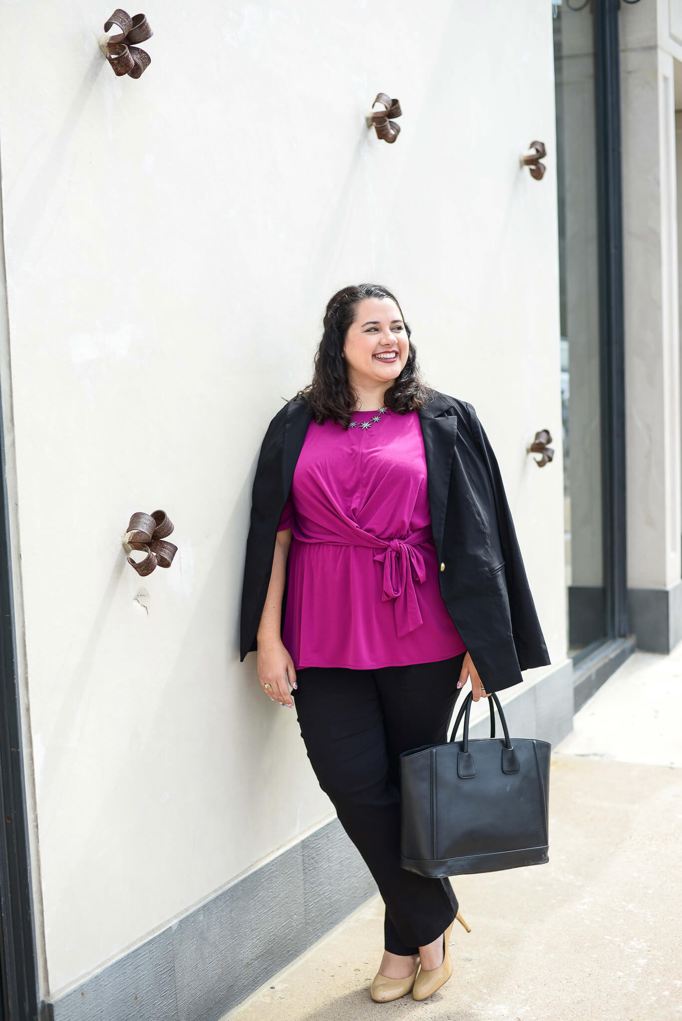Wearing business casual to the office every day doesn't have to be boring. I'm sharing one of my biggest tips for showing your personality at the office - wearing color - with the help of Lane Bryant.