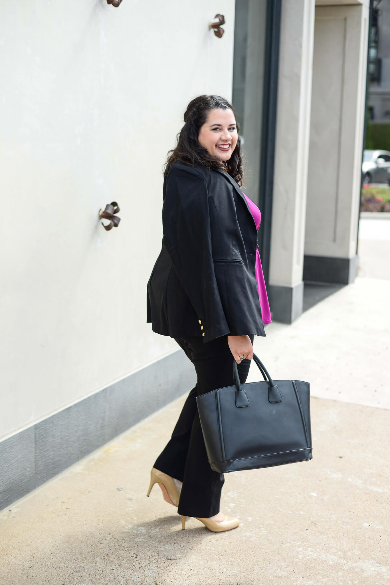 I'm always on the hunt for fabulous plus size business casual workwear an Lane Bryant is making it super easy with their new workwear section just in time for the start of school