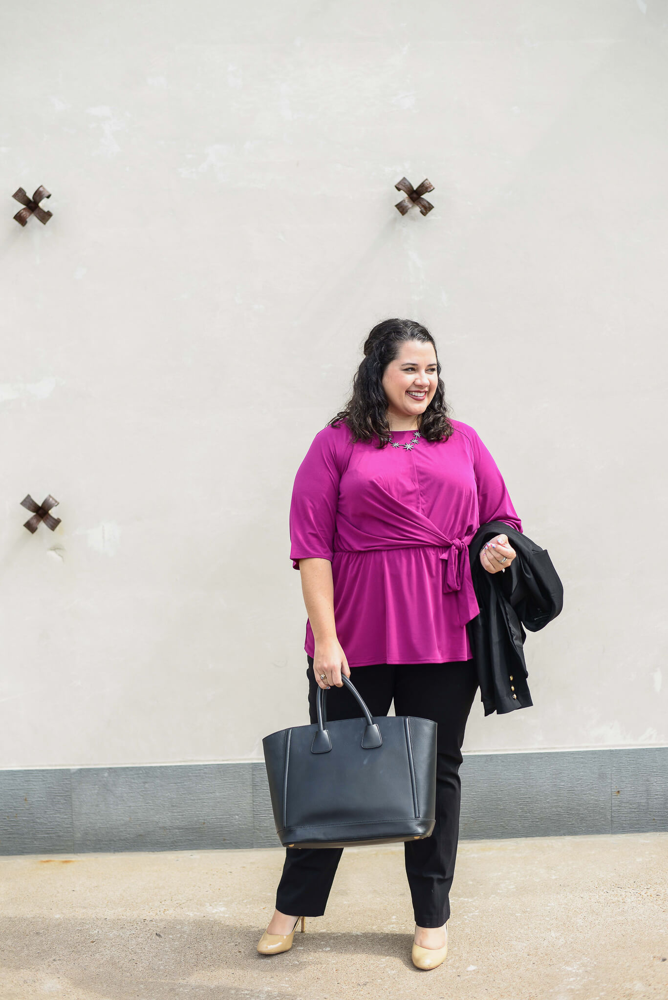 Going from business casual to business formal is super easy especially when you have great foundational pieces that can be mixed and matched. Lane Bryant has a great selection of workwear clothes that can take you from the boardroom to the bar.