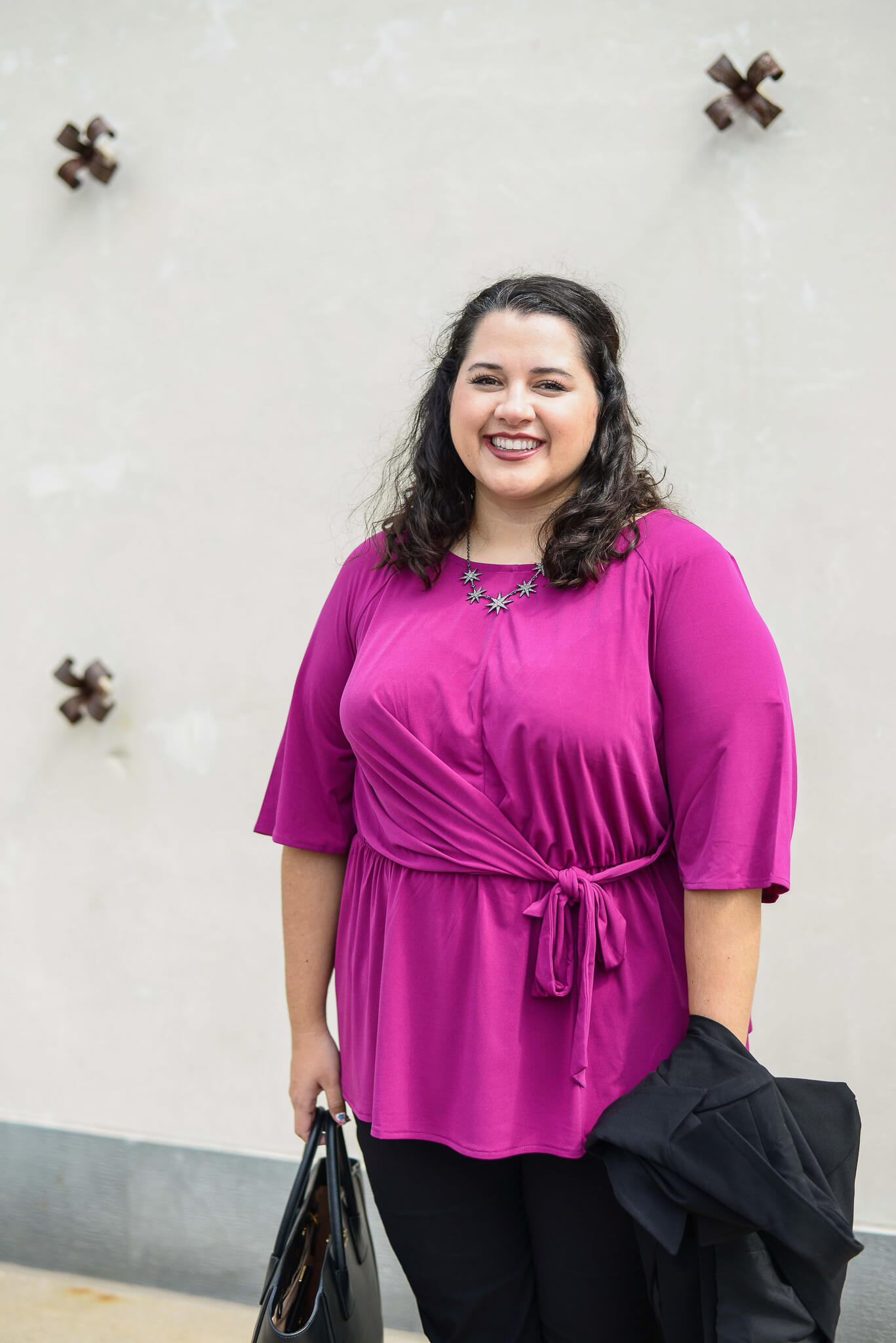 Finding plus size business casual outfits has never been easier than with the help of Lane Bryant this season.
