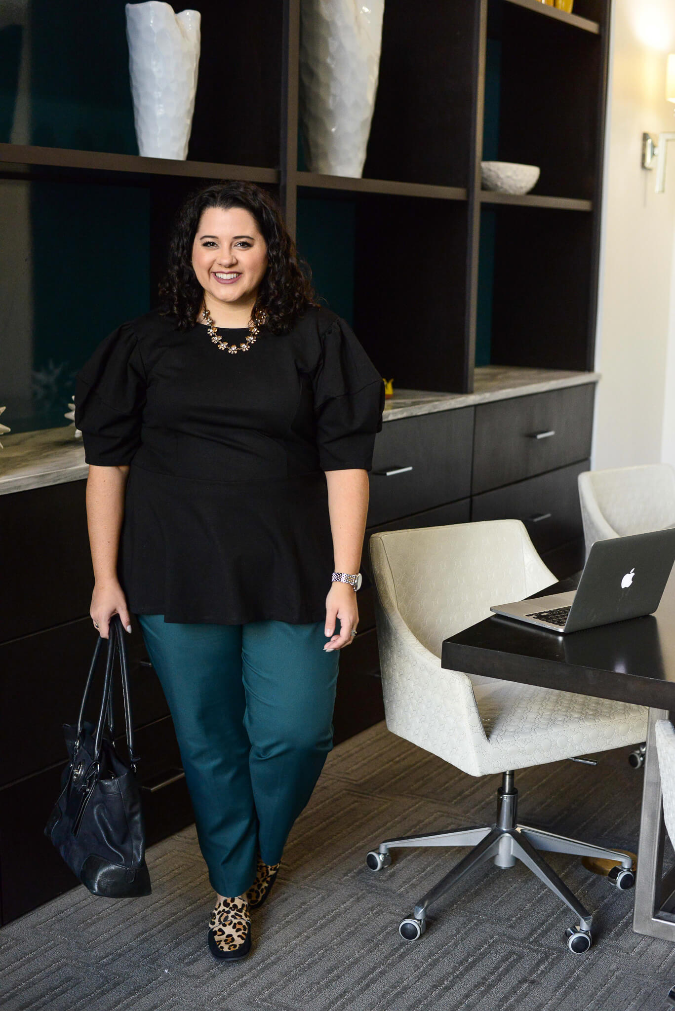 When you're working 12+ hour days, having a comfortable outfit is crucial to getting everything done without getting annoyed. Today, I'm sharing my favorite plus size work pant perfect for a business casual or business formal environment.