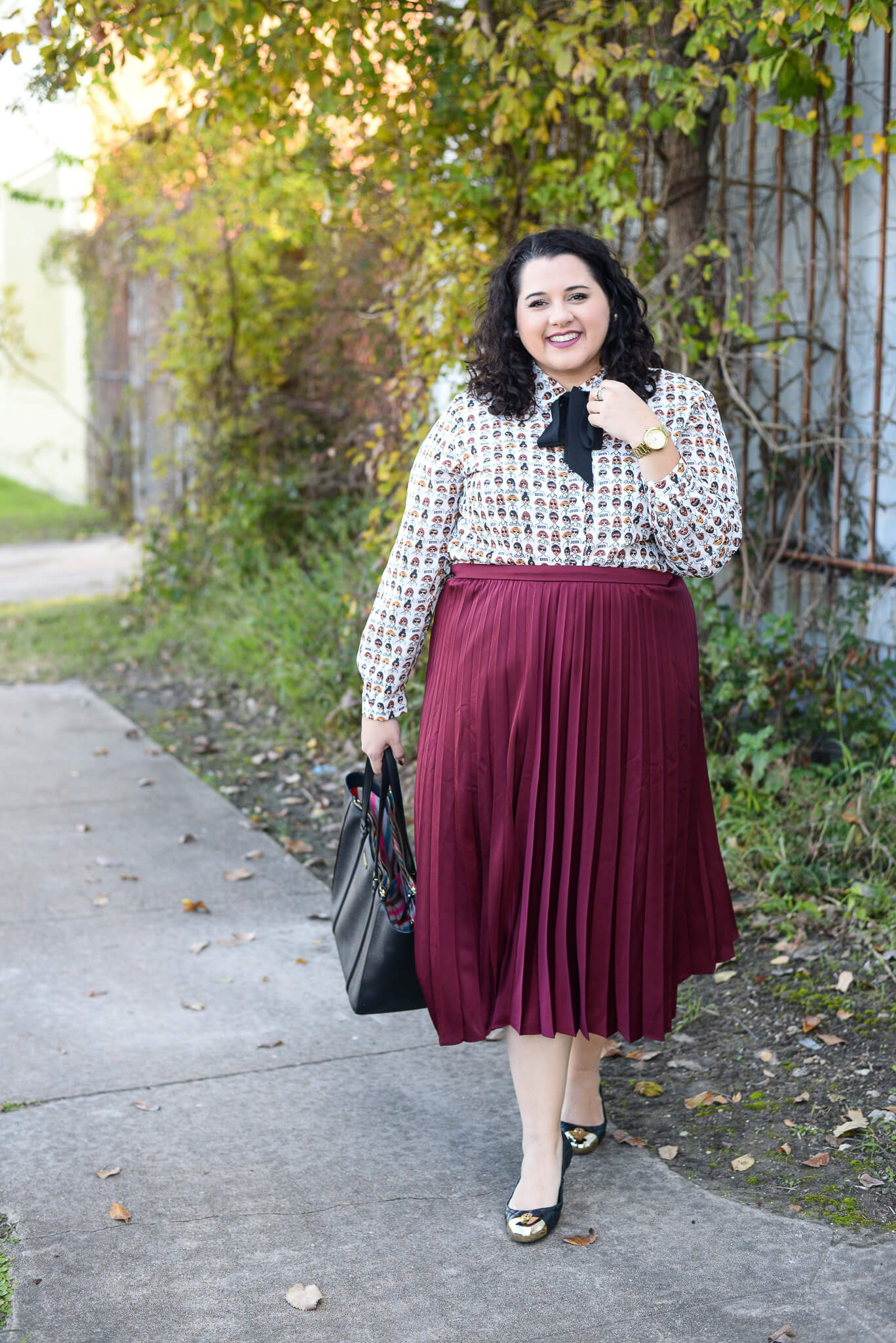 What to wear to work as a plus size woman