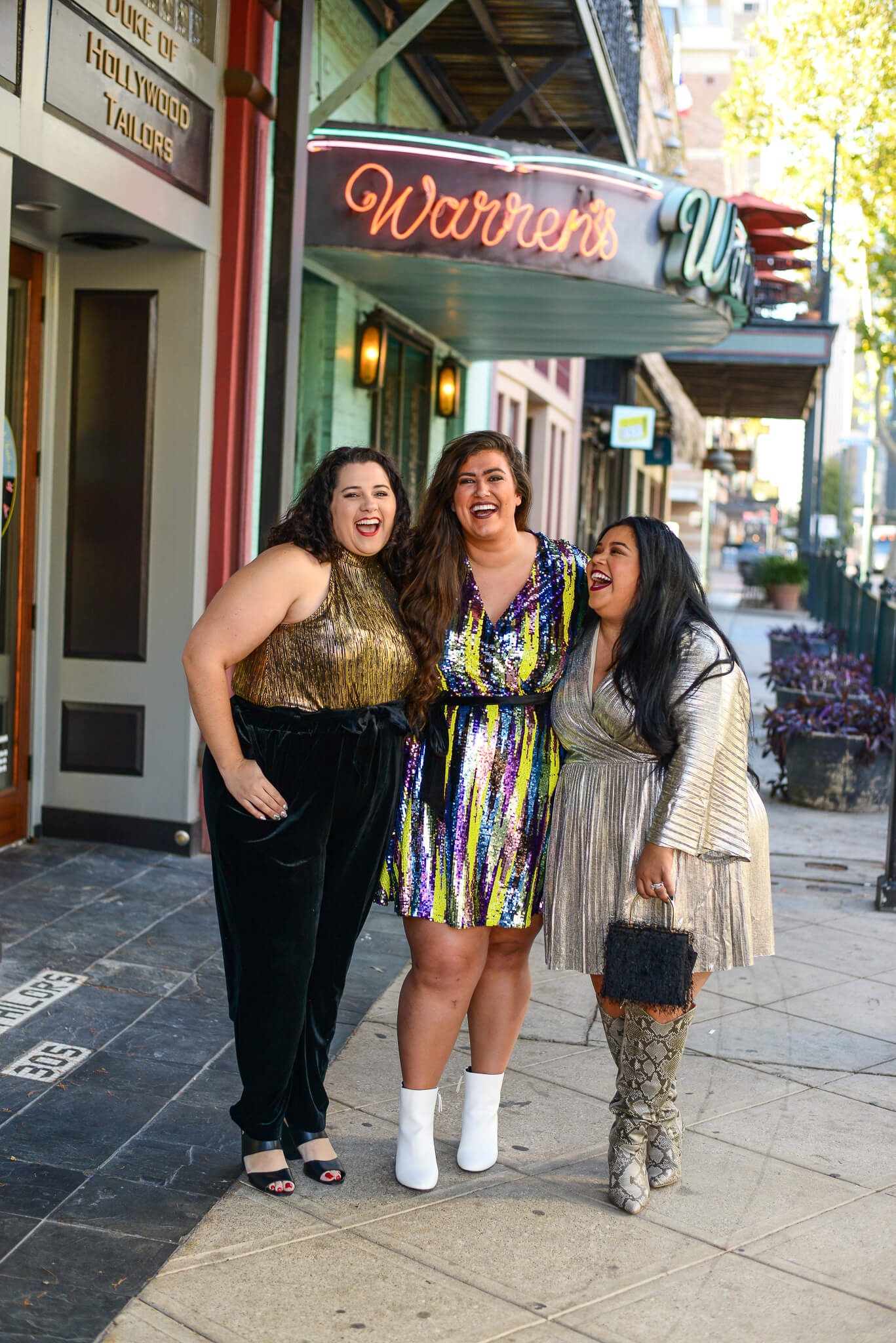 Eloquii's plus size clothing is perfect for any NYE party