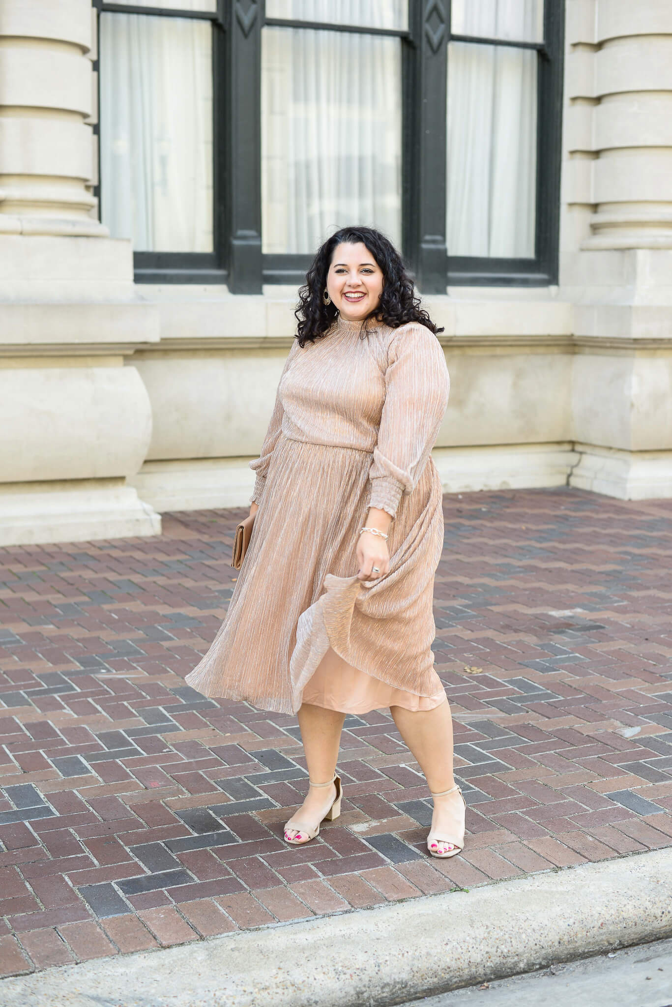 Looking for plus size NYE party outfits? I've rounded up 3 of my favorite for this season