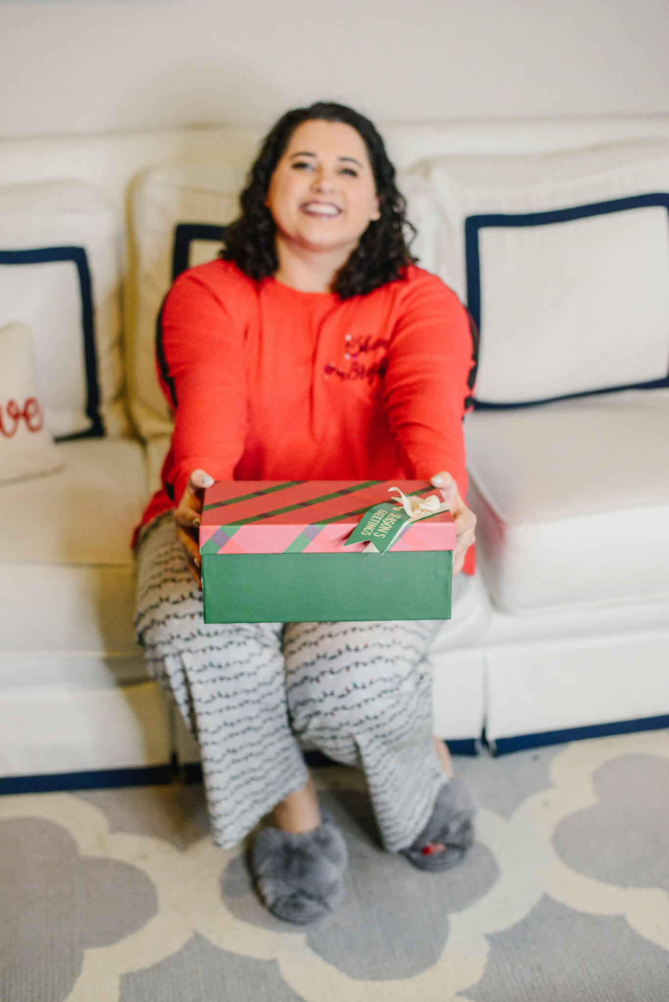 Plus size Christmas Pajamas from Lane Bryant