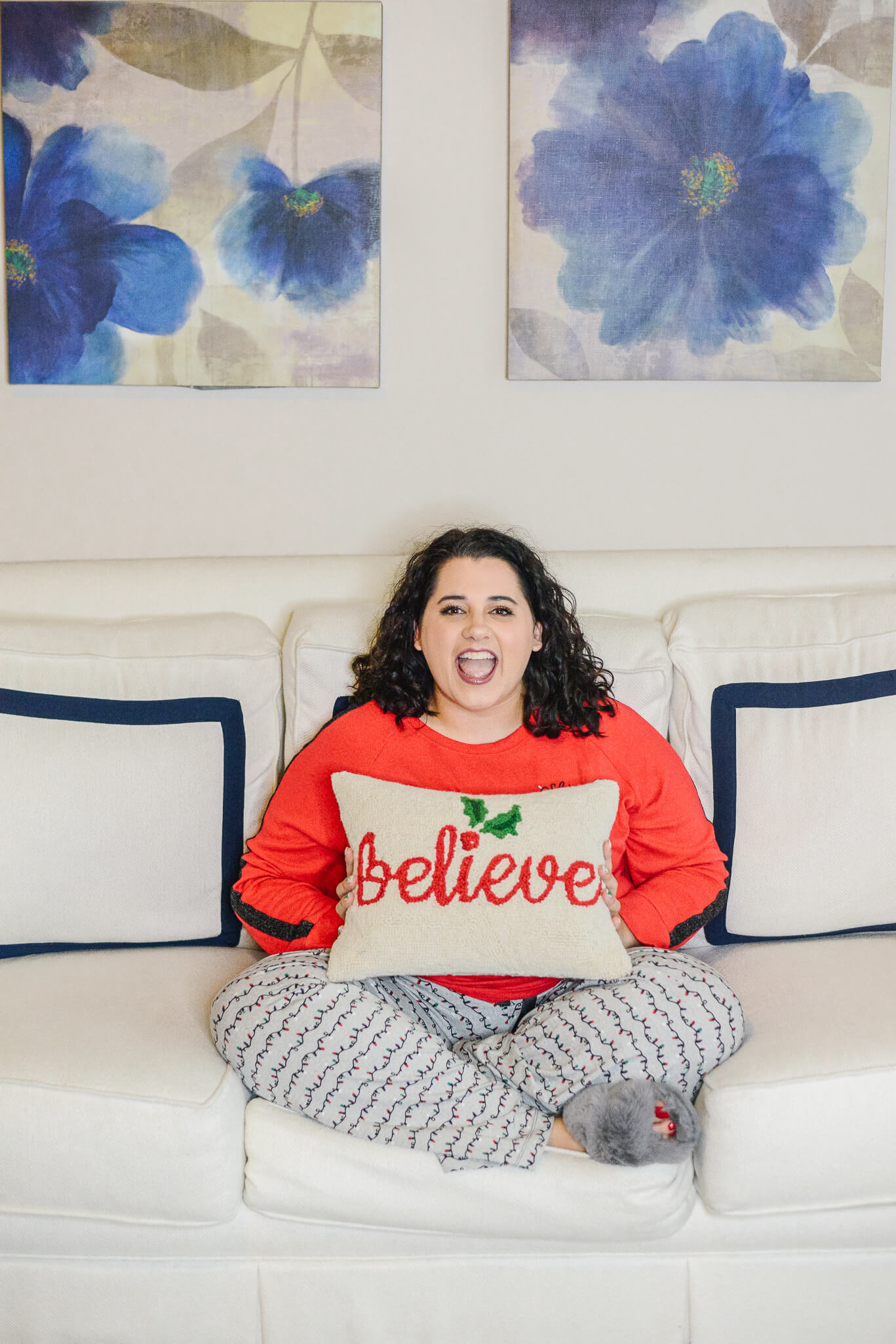 The best plus size Christmas pajamas