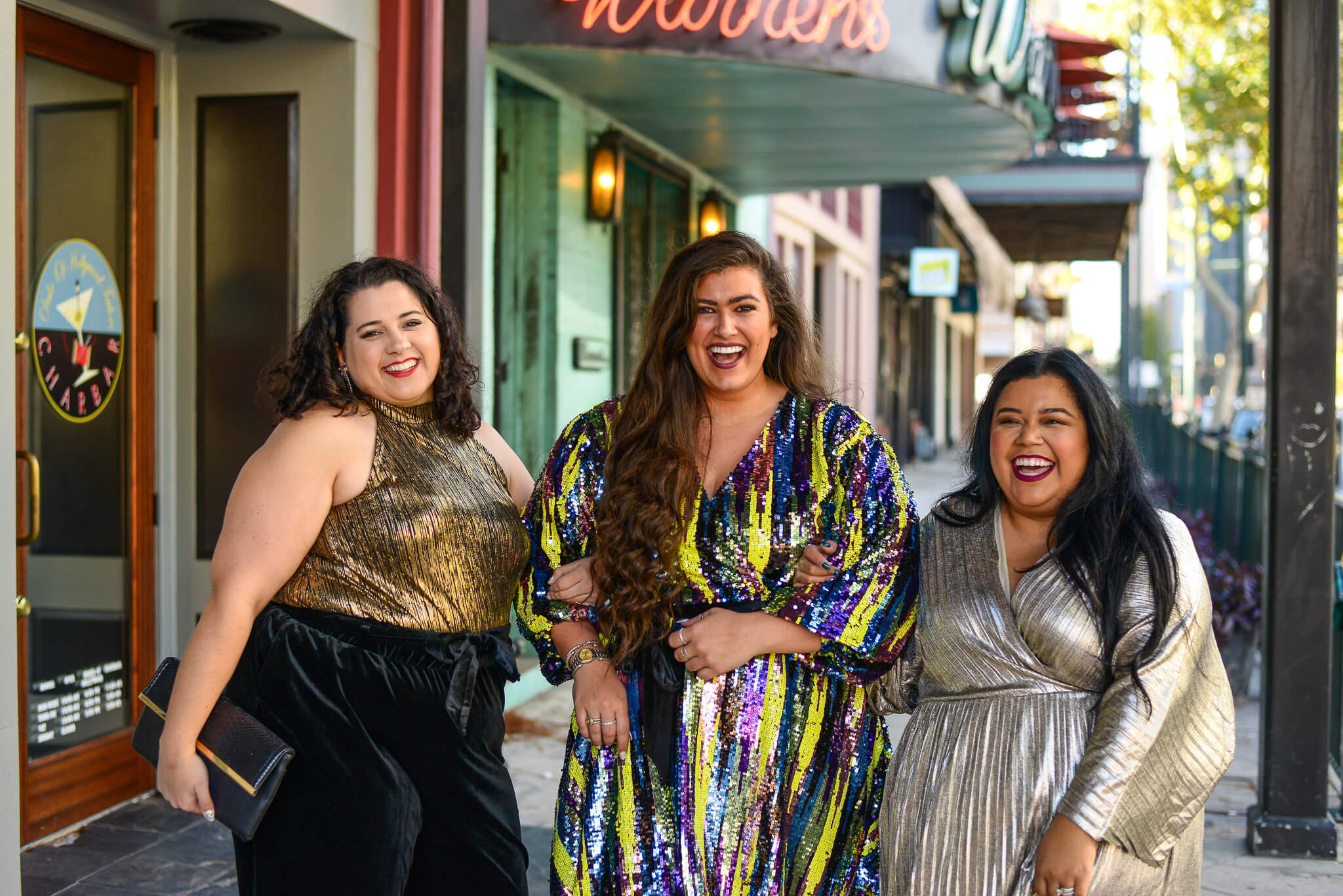 NYE plus size outfit
