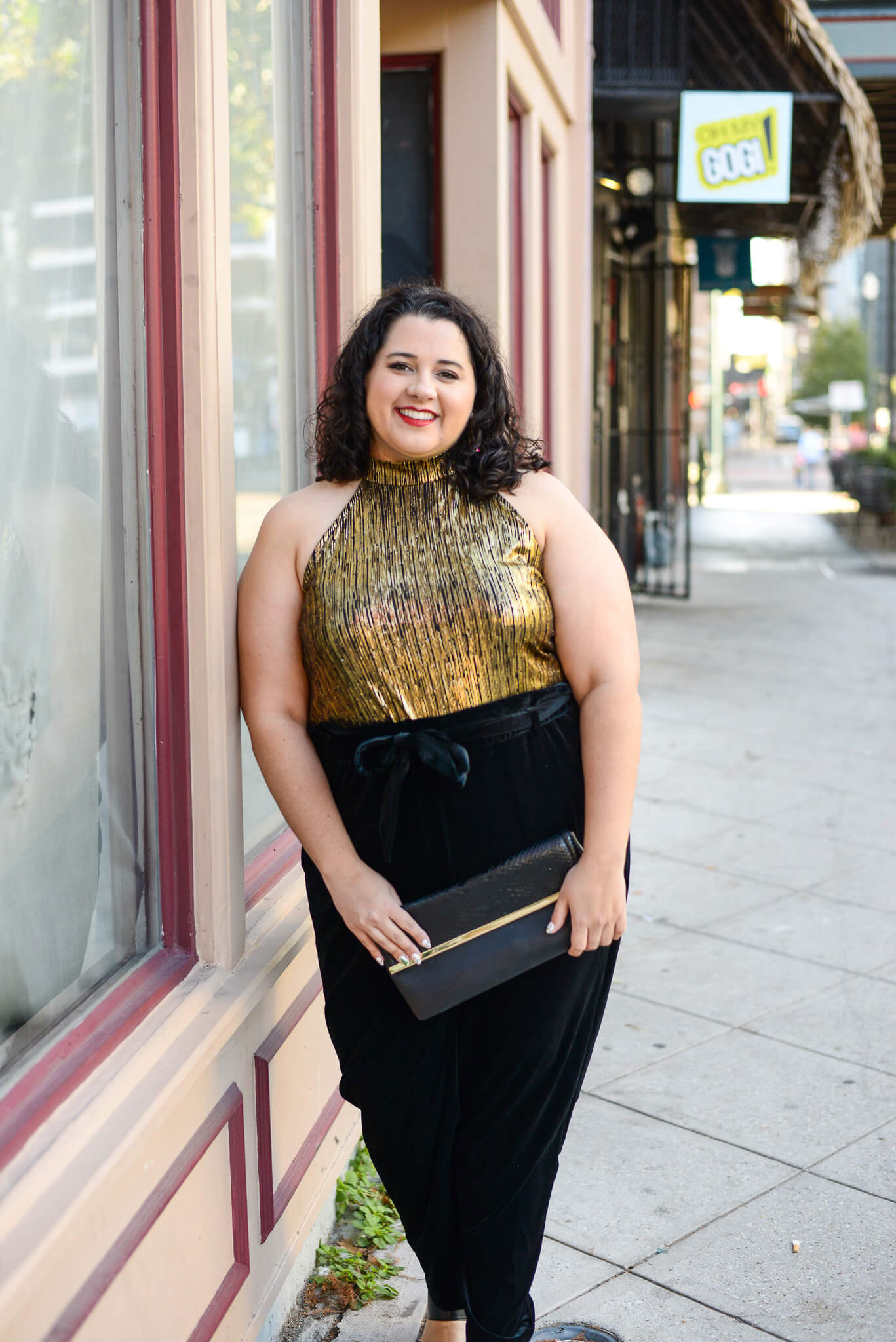 The perfect plus size New Years Eve party outfit
