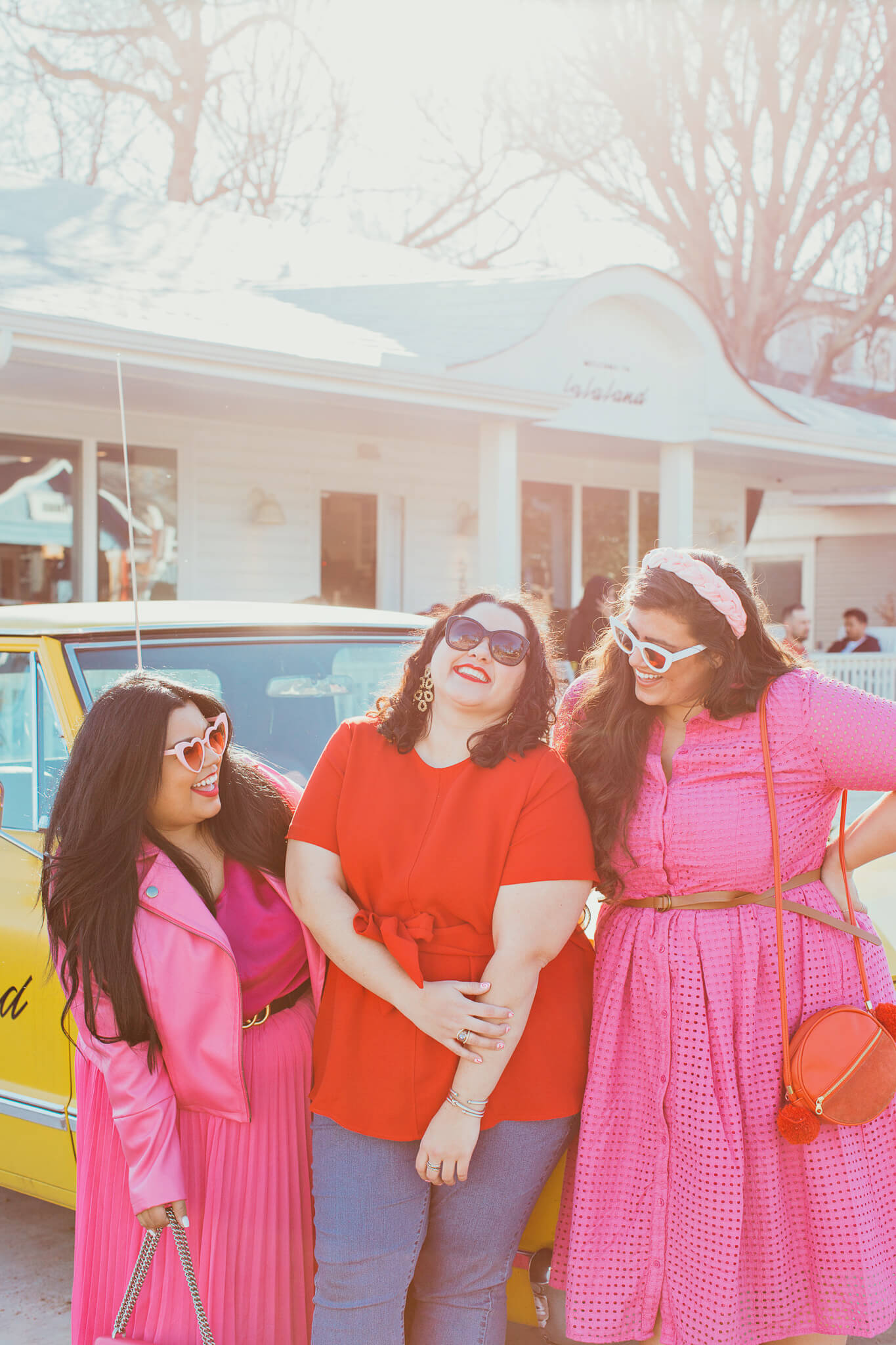Plus size Galentine's Day squad
