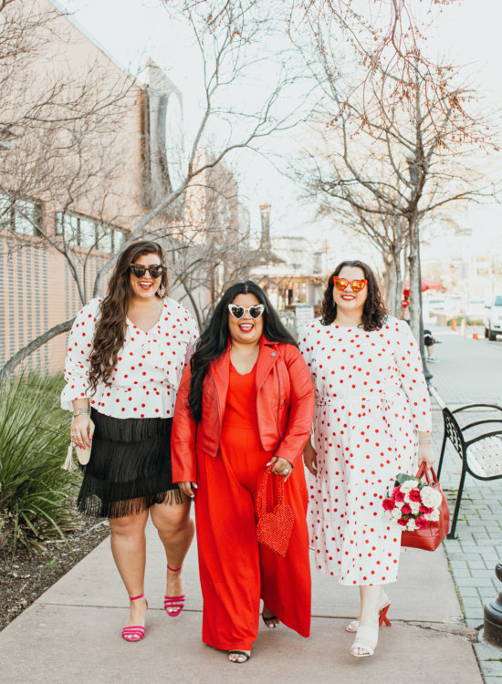 What to wear for Valentine's Day plus size?