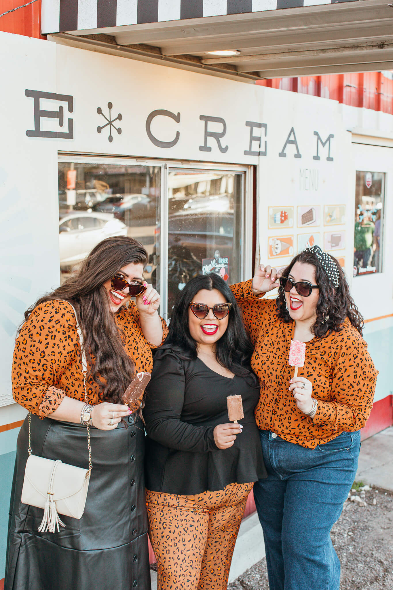 Plus size cheetah outfits