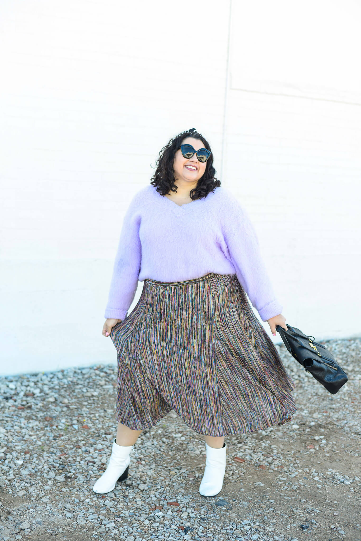 How to style the A+ by Anthropologie skirt