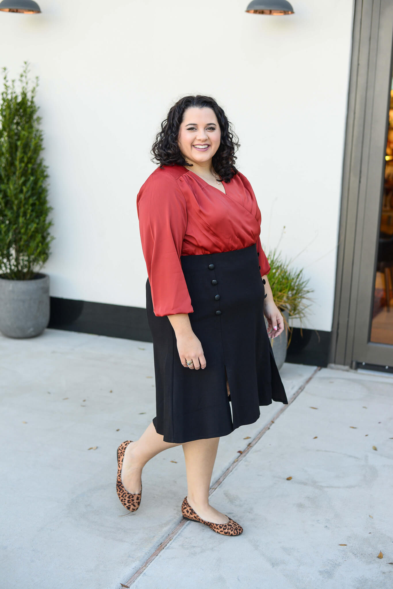 What to wear to work plus size