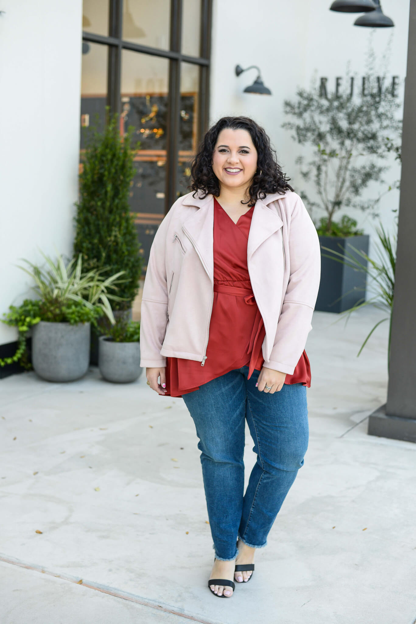 Lane Bryant plus size jeans are the perfect fit