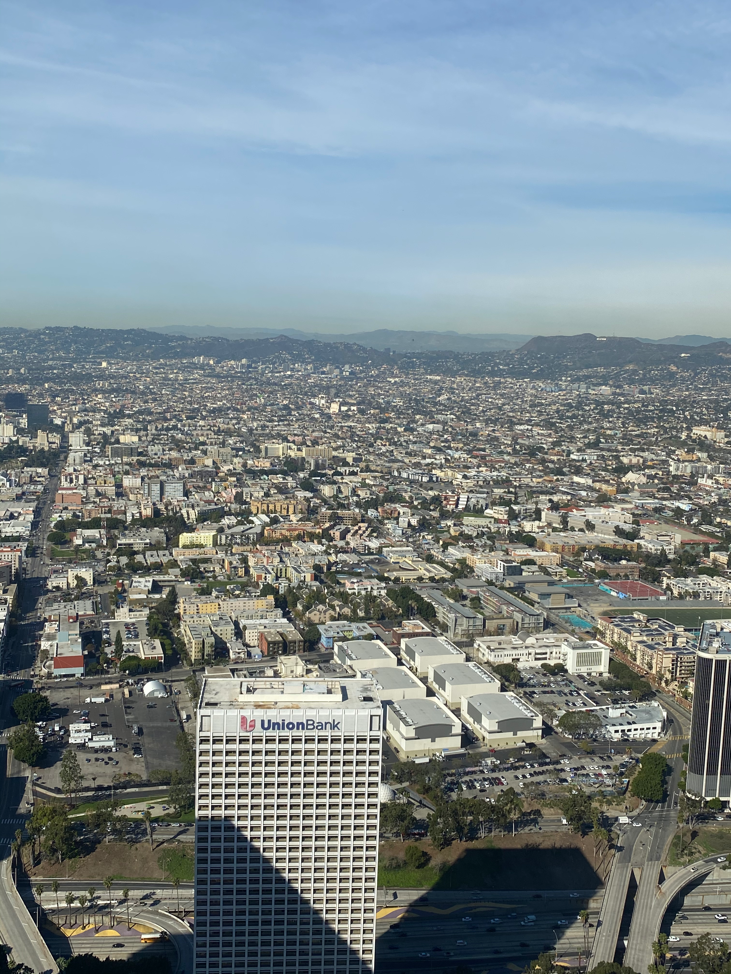 View from Skyspace LA