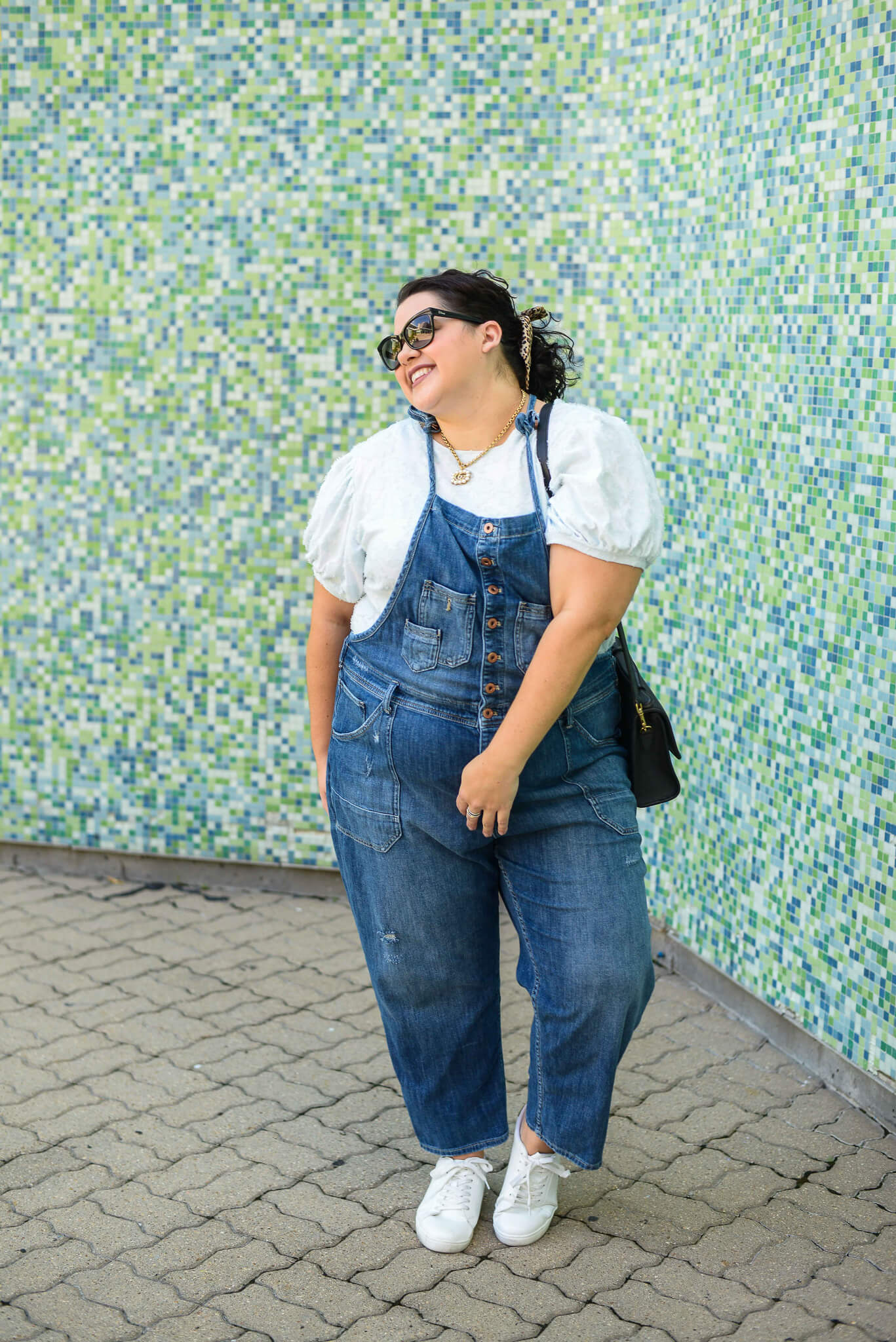 How to style plus size overalls