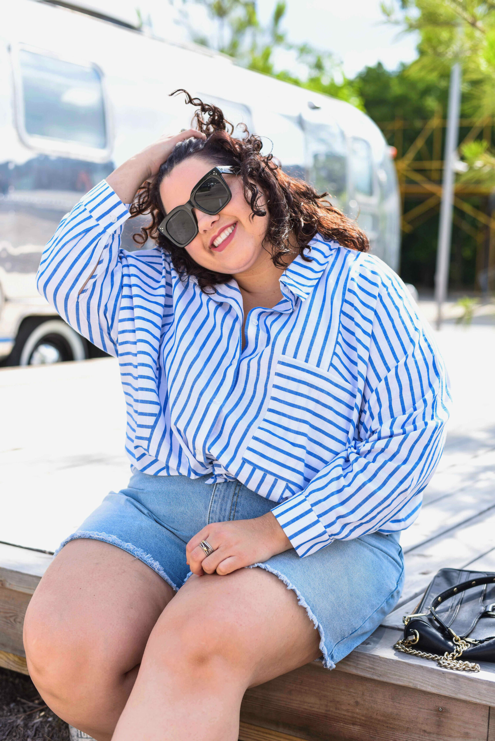 Being plus size does not mean you shouldn't wear the shorts of your summer girl dreams